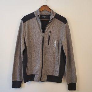 🌵Kenneth Cole full zipper front sweater medium